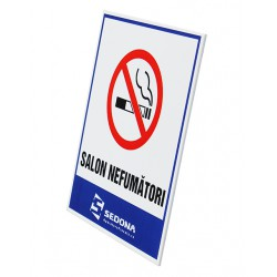 Non-Smoking Salon Sign