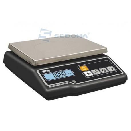 Cantar de verificare Dibal G305 15/30 kg cu verificare metrologica