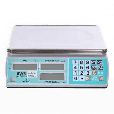Cantar comercial SWS PH 6/15/30 KG - Acumulator