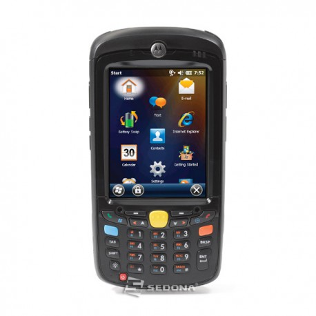 Mobile terminal with scanner 1D Zebra Motorola MC55A0 - WIndows