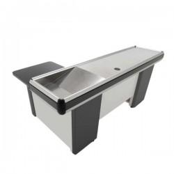 Cash register counter L shape without treadmill 160 cm