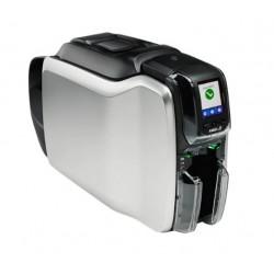 Zebra ZC300 card printer, single side, Ethernet, display, kit