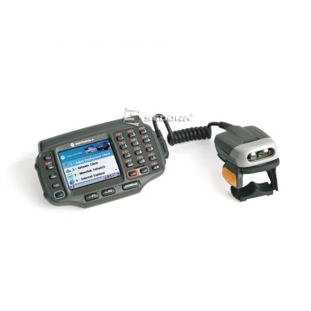 Terminal wearable cu cititor coduri 1D Zebra Motorola WT41N0 cu scanner pentru deget RS419