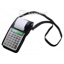 Husa din piele pentru case de marcat Datecs portabile