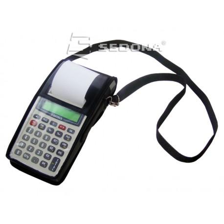 Leather case for Datecs portable cash registers