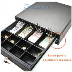Sertar de bani Mare - cu buton MK410M