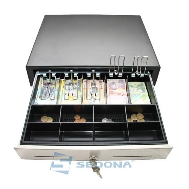 Sertar de bani Extra Large - Inox