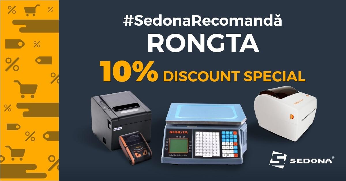 Calitate pe care vă puteți baza, la prețuri imbatabile: RONGTA. Acum cu 10% discount, doar la Sedona