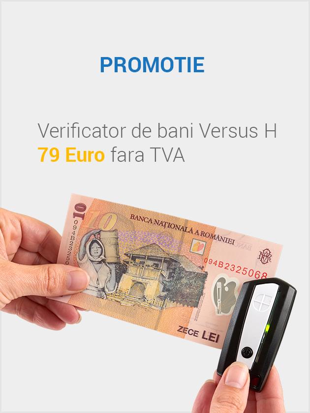 Detector portabil bani polimer Verus H