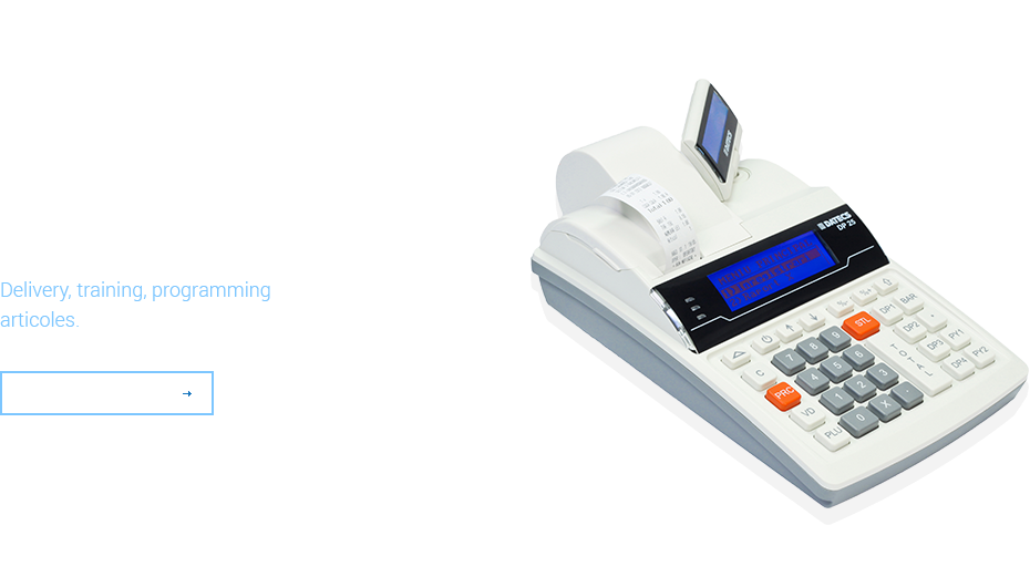 Cash registers from 440 Lei, vat included.