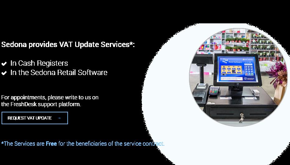 Sedona provides VAT Update Services