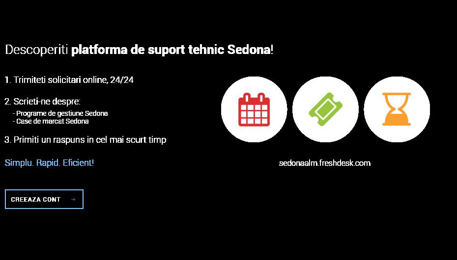 Descoperiti platforma de suport tehnic Sedona