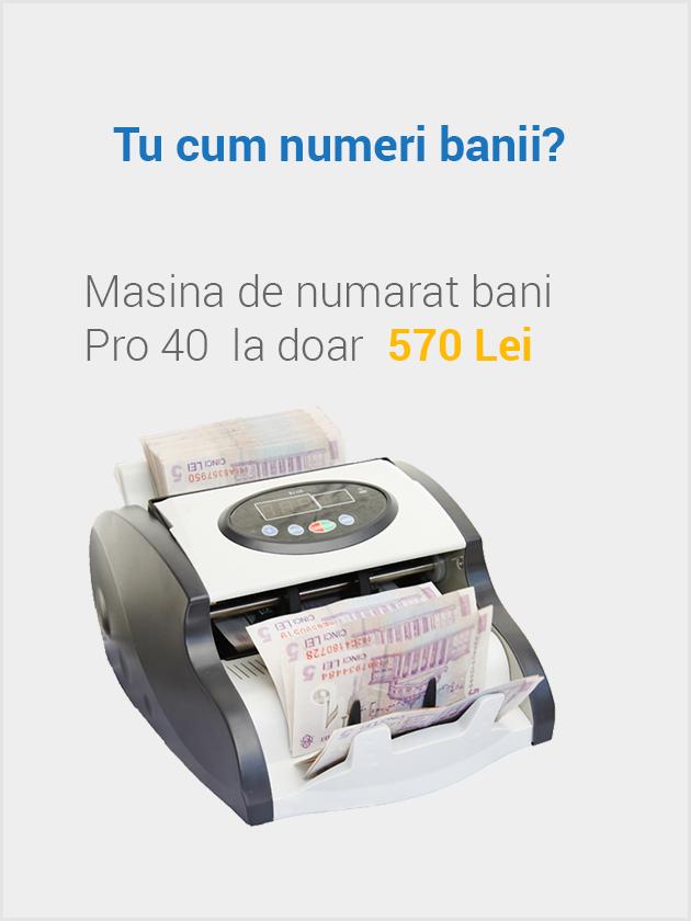 Tu cum numeri banii?