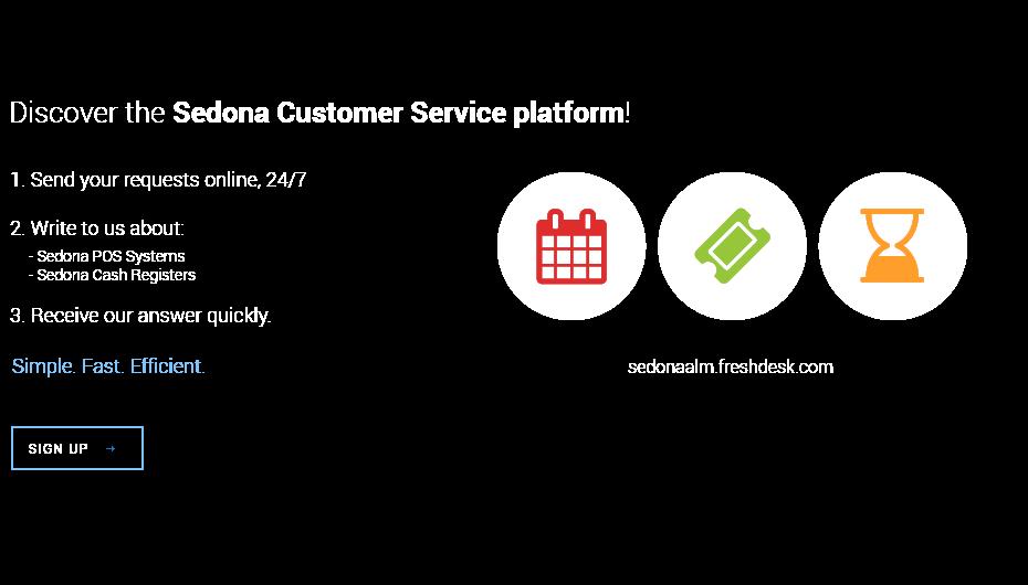 Discover Sedona Customer Service Platform